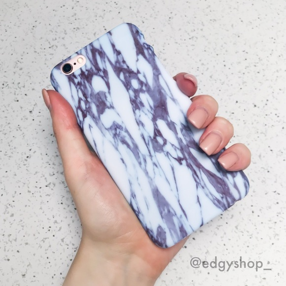 THE EDGY SHOP Other - Marble Hard iPhone Case